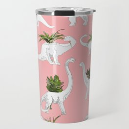 Dinosaurs & Succulents Travel Mug
