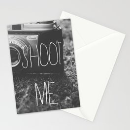 Shoot Me Stationery Cards