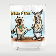 Burrito 4 Prez Shower Curtain