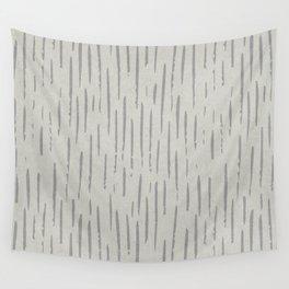 WHITE RAIN Wall Tapestry