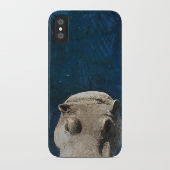 Hippo on the Tropic of Capricorn  iPhone Case