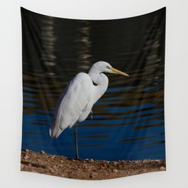 Great_Egret - Nevada Wall Tapestry