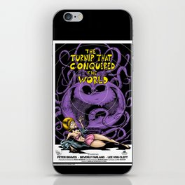The Turnip That Conquered The World iPhone Skin