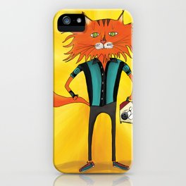 'Lucky Strike Champion Bowler' iPhone Case