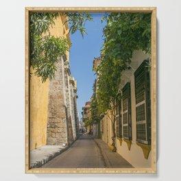 Cartagena Streets Serving Tray