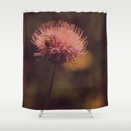 flower, honey Shower Curtain