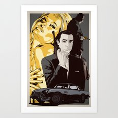 J. B. Art Print
