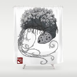 Bloodborne Rom the Vacuous Spider Shower Curtain
