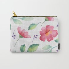 Floral pattern 3 Carry-All Pouch