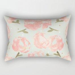 Syana's Cabbage Roses Rectangular Pillow
