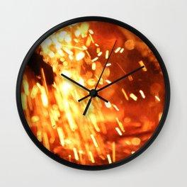 Fallen Embers Wall Clock