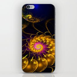 Continium 3D Flame Fractal iPhone Skin