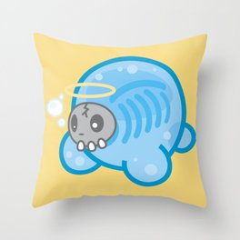 Tamanee Bubble Ghost Throw Pillow