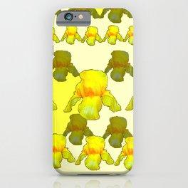 YELLOW IRIS FIELDS iPhone Case