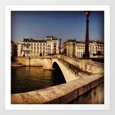 Bridges of Paris - Ile Saint Louis Art Print