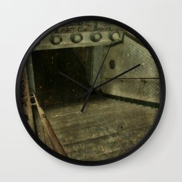 Down into Darkness Wall Clock