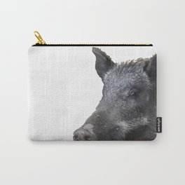 Wild Boar Vector Carry-All Pouch