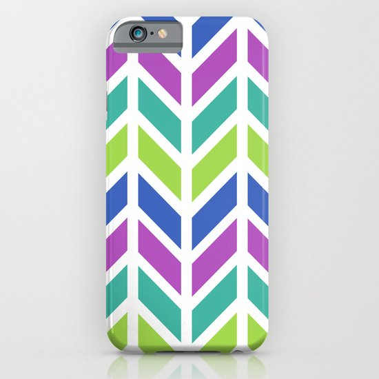 SPRING CHEVRON iPhone & iPod Case