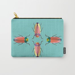 Happy beetles Carry-All Pouch