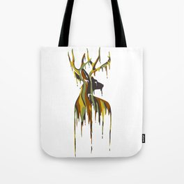 Painted Stag Tote Bag