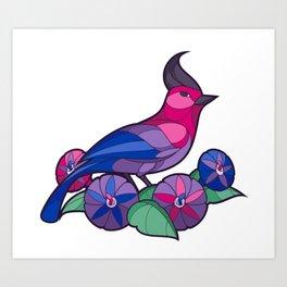Pride Birds - Bisexual Art Print