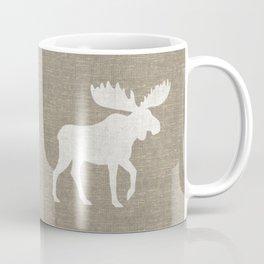 Moose Silhouette Coffee Mug