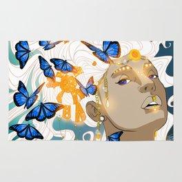 Butterflies Amazon Rug
