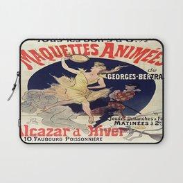 Vintage poster - Alcazar d'Hiver Laptop Sleeve
