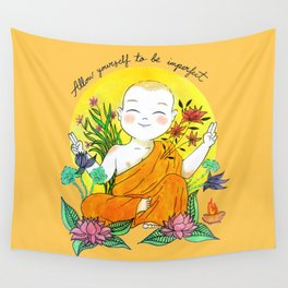 The Buddhist Monk Wall Tapestry