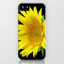 Small Sunflower iPhone Case