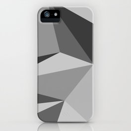 Different shades of Grey iPhone Case