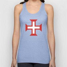 Cross of the Order of Christ (Cruz da Ordem de Cristo) Unisex Tank Top