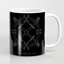 Shield of Terror Stave Coffee Mug