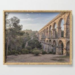 Pont del Diable (Ferreres Aqueduct, Tarragona) Serving Tray