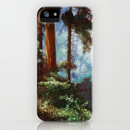 The Forrest Through the Trees iPhone Case