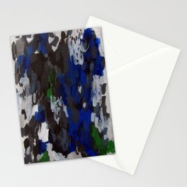 No. 69 Modern Abstract Painting Stationery Cards