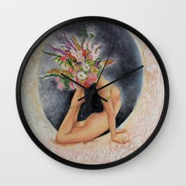 Goddess Divine Yogini Wall Clock