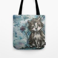marley Tote Bags featuring Marley by Allison Weeks Thomas