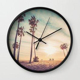 Venice Beach California Wall Clock