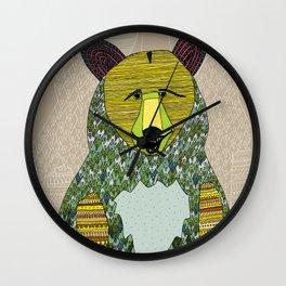 Hello, Bear Wall Clock