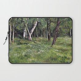 Woodland Forest Landscape Nature Art Laptop Sleeve