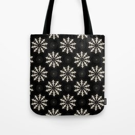 Wolf Skull Repeat Pattern Tote Bag