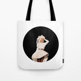 Lady Seashell Bikini Tote Bag