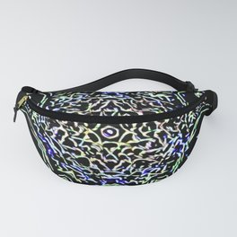 The Abstract Owl In The Dark Fanny Pack