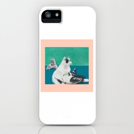 Mickey and Holiday iPhone Case