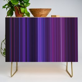 Abstract mixed stripes Purle Dark Credenza