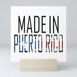 Made In Puerto Rico Mini Art Print