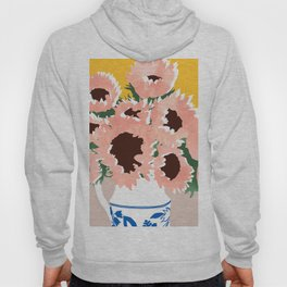 Sunshine On a Cloudy Day #painting #botanical Hoody