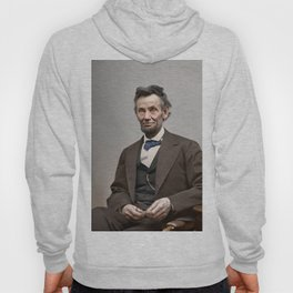 Abraham Lincoln Painting Hoody