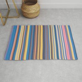 Stripe obsession color mode #6 Rug